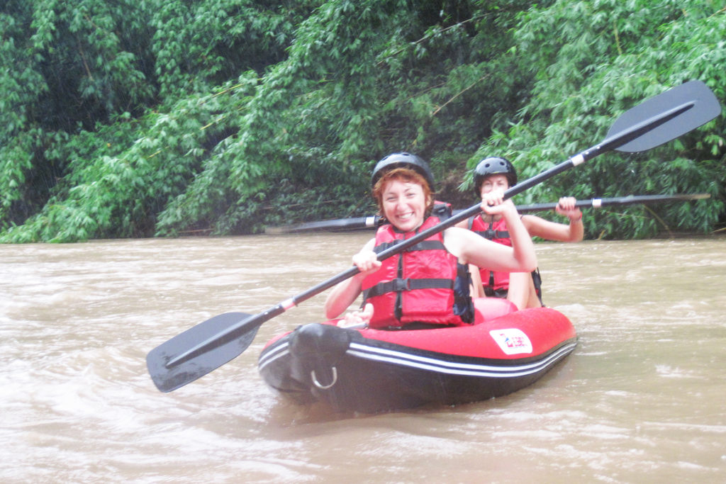 1 Day Kayaking Nam Tha River-Funny, Exiting & Challenge