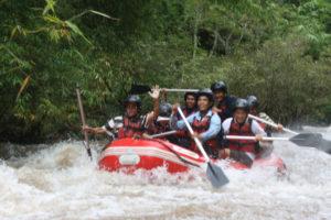 Rafting in Nam Ha River
